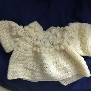 Other - Crochet outfit w/ blanket